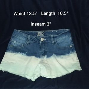 Justice Ombre Shorts